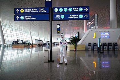 Cierre de medios transporte en Wuhan