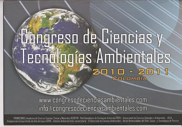 Primer Congreso de Ciencias y Tecnologías Ambientales