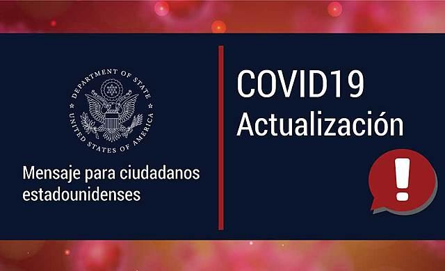 Departamento para el manejo del Covid en EUA