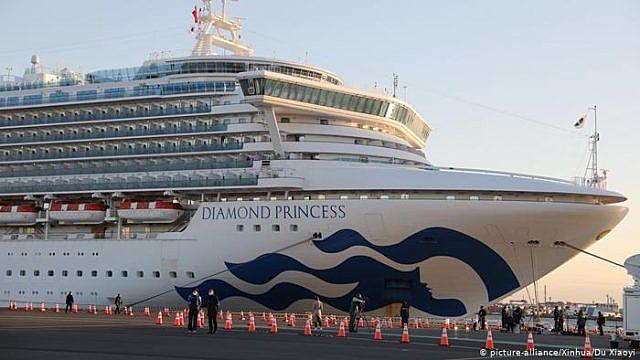 Crucero Diamond Princess se somete a cuarentena