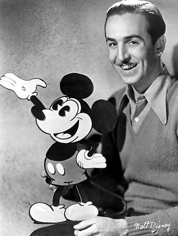 Walt Disney. (1901-1966).