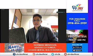 CLTV36 NanuPaTa? invites LR Adviser and co-founder Mr Norman