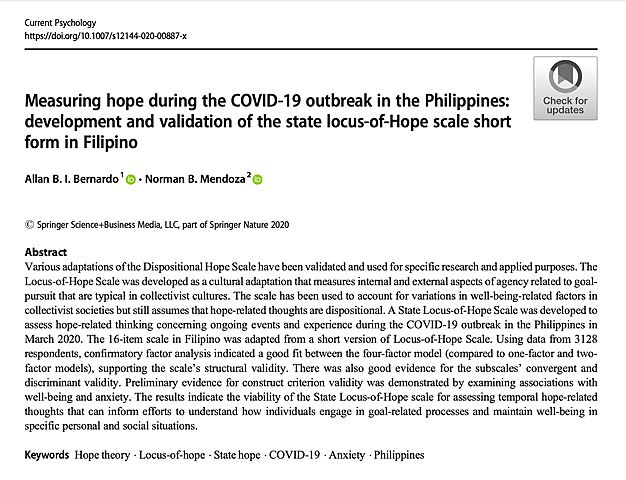 Published Research using GPULSECOVID19 survey