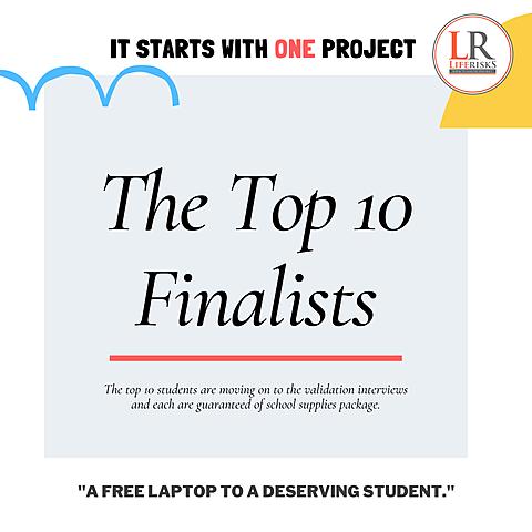 LR #ISWO project Announces Top 10 Finalist