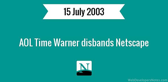 Time Warner cierra Netscape