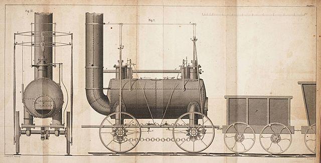 Locomotora Blucher