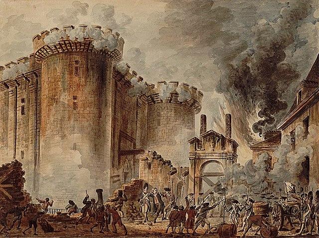 Toma de la Bastilla 1789