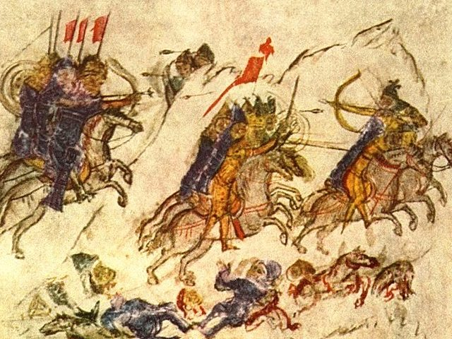 Συντριβή των Βουλγάρων από τον Σβιατοσλάβο
