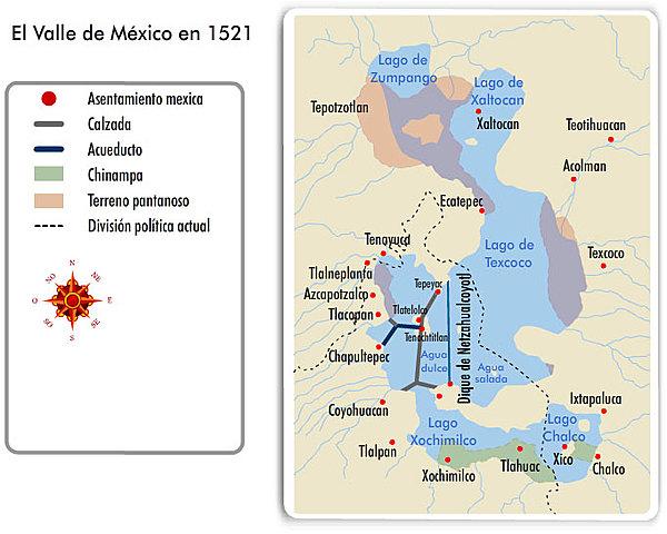 La fuerza y poderío militar mexica