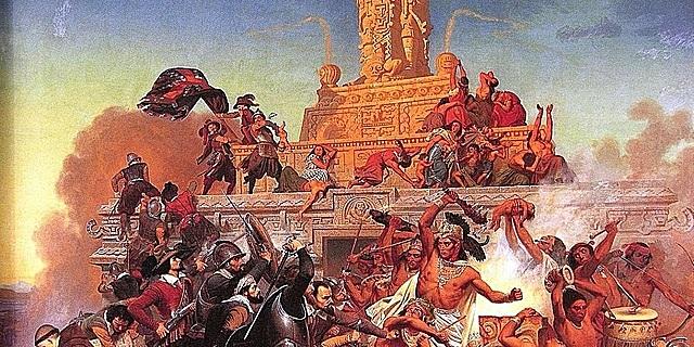 Comienza el sitio a Tenochtitlan.