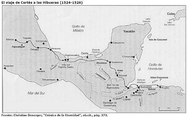 Expedición de Cortés a las Hibueras