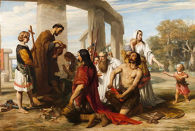 Начало римской миссии в Британии