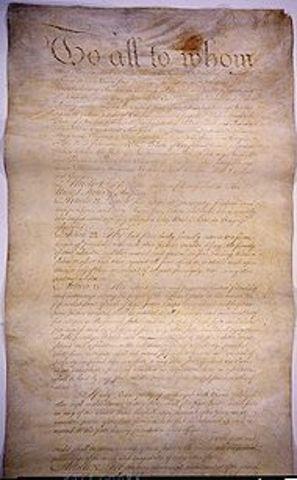 Articales of Confederation