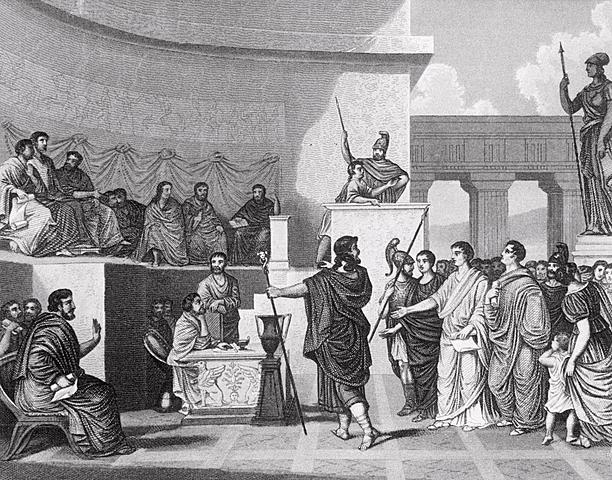 Istituzione Tribuni della Plebe