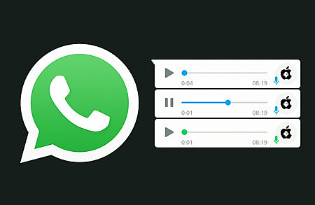 Notas de voz en WhatsApp