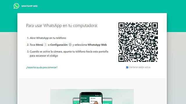 WhatsApp Web para ordenadores