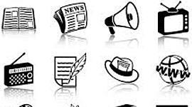 A Evolução dos Meios de Comunicação timeline