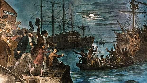 Liberty! The Boston Tea Party