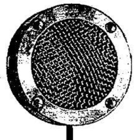 First Microphone invented by Emile Berliner