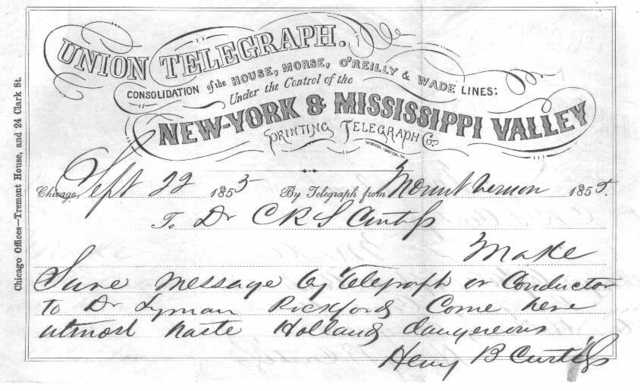 The New York and Mississippi Valley Printing Telegraph Company
