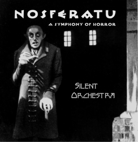 An orchestra is used with (silent) motion pictures for the first time in April in London