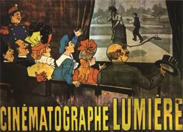 The Lumiere Brothers Use Piano Music With A Motion Picture Program