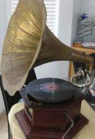 RCA Victorla Model record player was introduced