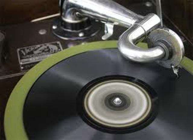 gramophone disks