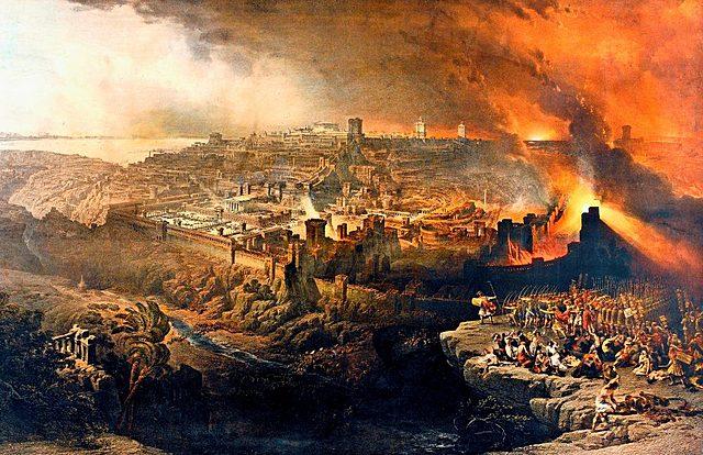 La caída de Jerusalén