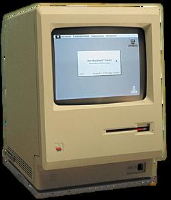 La primera computadora Macintosk