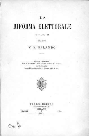 Riforma Elettorale