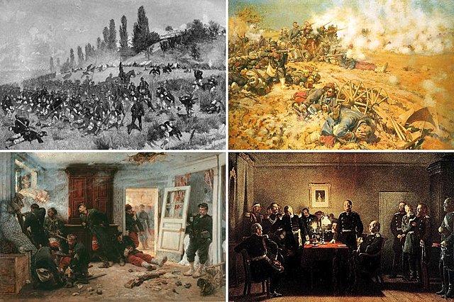 La Prussia attacca la Francia