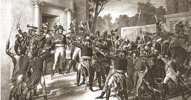 Cop d' estat per part de Napoleó