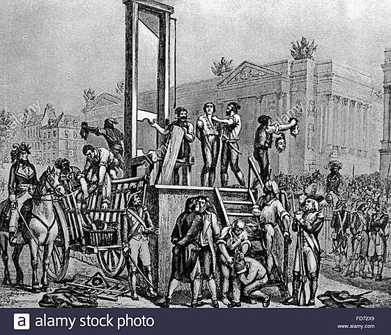 Execució de Robesspierre