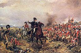 Derrota a la batalla de Waterloo