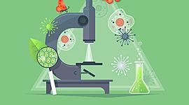 De l'invention du microscope jusqu'à la théorie cellulaire timeline