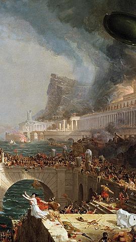 Romarrikets fall