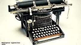 Type Writers timeline