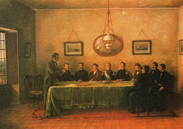 Firma del Acuerdo de San Nicolás