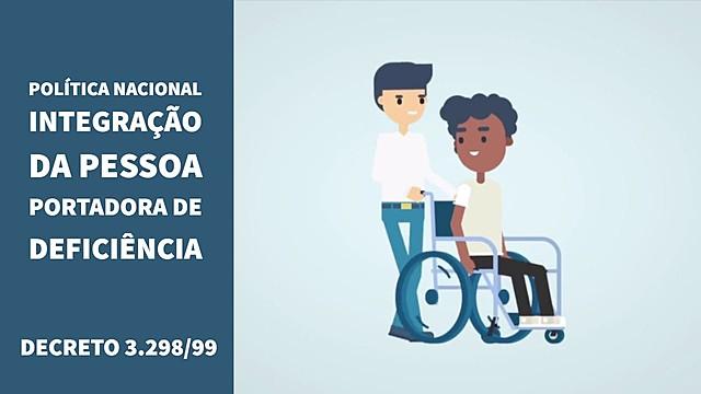 Coordenadoria nacional para integração da pessoa portadora de deficiência
