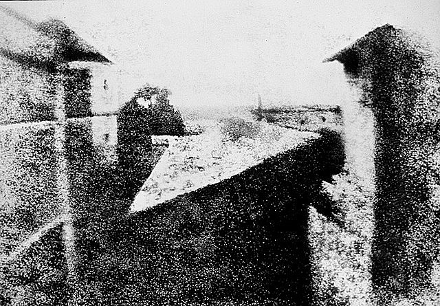 THE FIRST PHOTOGRAPHY