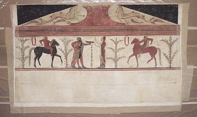 Tumba del Barón (pinturas)