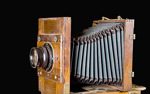 The accordion-like bellows camera