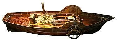 INVENTO: Barco de vapor