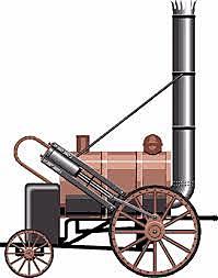 INVENTO: Locomotora de vapor