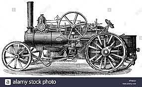 INVENTO: Arado de vapor