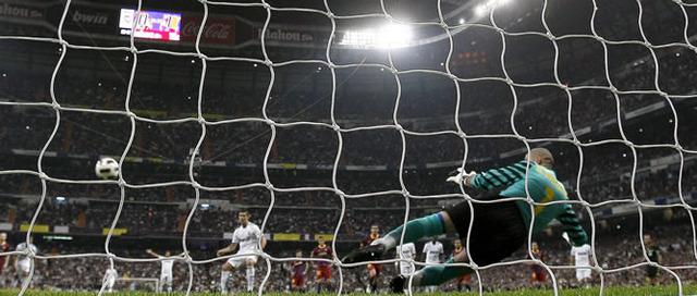 Penalty against FC Barcelona