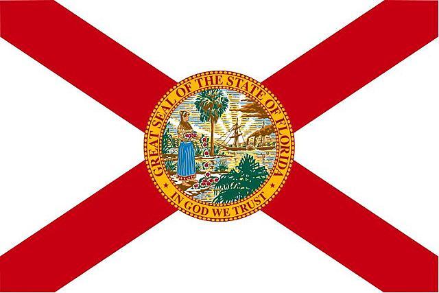 Florida becomes a territory.