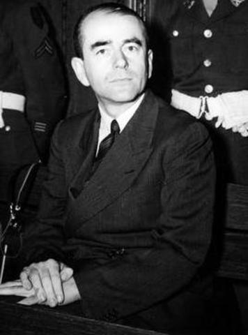 Albert Speer testifies