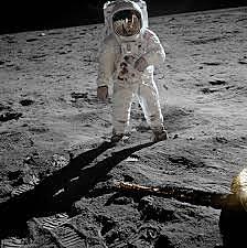 Neil Armstrong første mann på månen